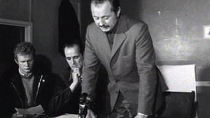 McGuinness (L) is pictured at an IRA press conference in 1972