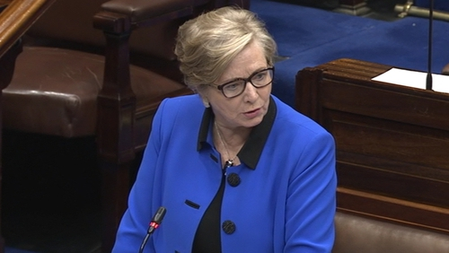 Frances Fitzgerald faced an extra question due to 'an administrative error'
