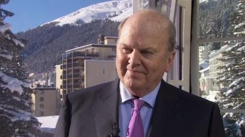 Michael Noonan met UK PM Theresa May in Davos last week