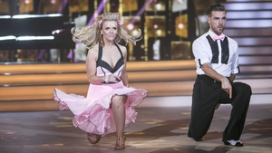 Denise McCormack with her dancing partner Ryan McShane