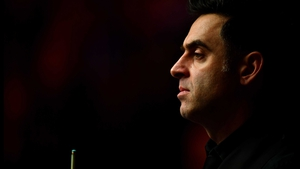 Ronnie O'Sullivan was in the groove at the York Barbican.
