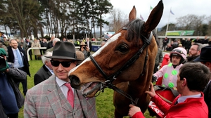 Owner Rich Ricci with Faugheen