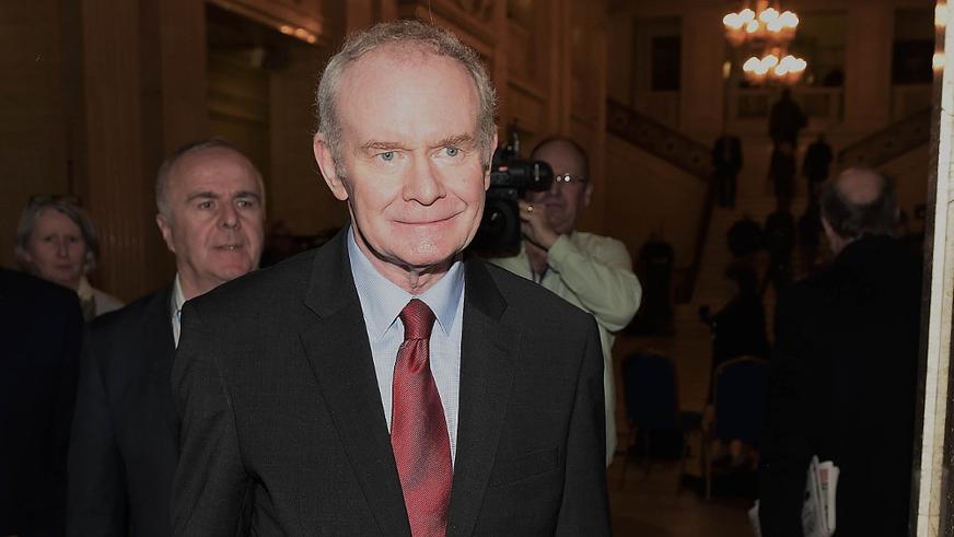Martin McGuinness Announces Retirement