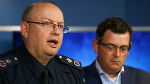 Victoria Police Chief Commissioner Graham Ashton said a man deliberately drove his car into pedestrians