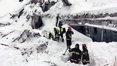 Ten survivors found in avalanche-hit hotel