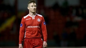 Stephen Elliott in action for Shelbourne last season