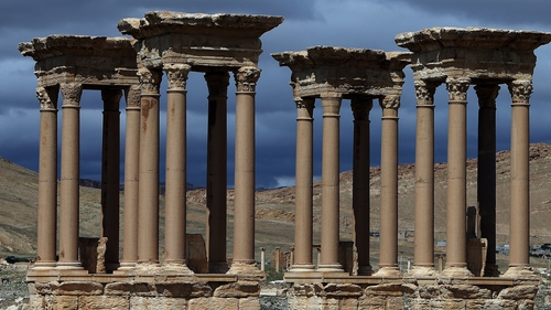 Islamic State controls the Palmyra site after recapturing it in December