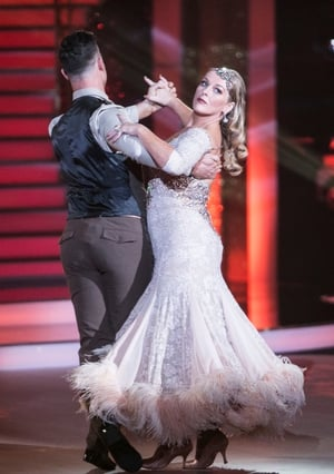 Week 2: Katherine Lynch showed her elegant side with this beautiful waltz and dress.