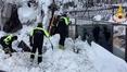 Eight survivors found in avalanche-hit hotel