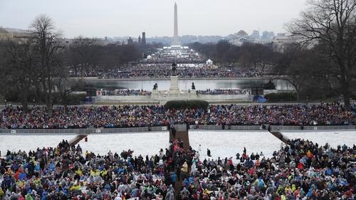 Barack & Michelle Obama Greet Donald & Melania Trump at White House