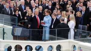 Donald Trump has been sworn in as US President