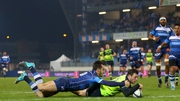 Leinster scored three tries but were held in France