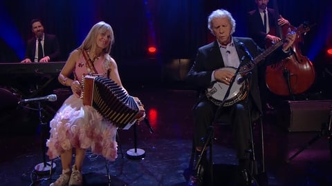 """The Late Late Show: Finbar Furey & Sharon Shannon - """"He'll Have To Go"""""""