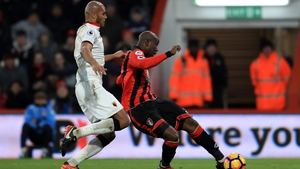 Benik Afobe struck late on for the Cherries