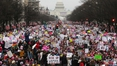 Women stage massive anti-Trump protests across US