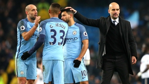 Pep Guardiola's side play West Brom and Watford in their last two Premier League fixtures of the season
