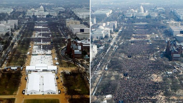 White House accuses media of delegitimising Trump