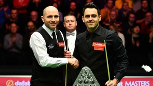 Joe Perry and Ronnie O'Sullivan are back on the baize this evening