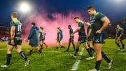 Connacht players leave the pitch dejected