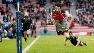 Arthur Bonneval's try essentially sealed the victory for the French side