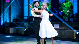 Hughie was the first to leave DWTS on Sunday night