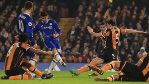 Diego Costa was on the mark for Chelsea after returning to the squad