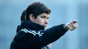 Kerry manager Eamonn Fitzmaurice at the Gaelic Grounds today