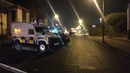 The attack happened on the Crumlin Road in North Belfast