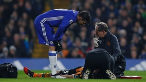 Ryan Mason suffered a fractured skull during the game against Chelsea