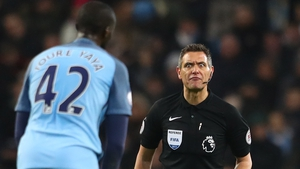 Andre Marriner was in the spotlight again during Manchester City's 2-2 draw with Tottenham