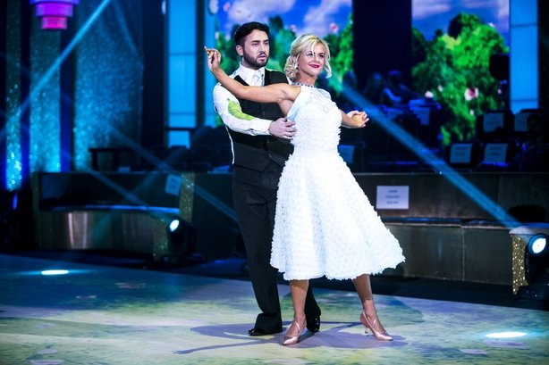 Hughie and Emily in Dancing with the Stars Ireland