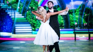 Hughie Maughan with professional partner Emily Barker - First couple to be eliminated
