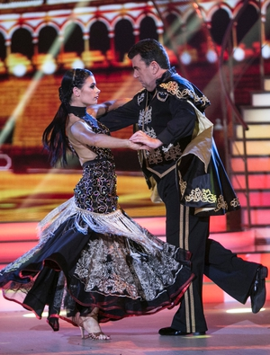 Week 3: Dancing Dessie channeled his inner Zoro for his Paso Doble with Karen Byrne.