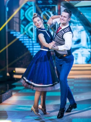 Week 3: Aoibinn Garrihy and Vitali Kozmin brought beauty, theater and glamour to the dance floor with an impressive quick step.