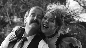 Gordon Kaye played cafe owner Rene Artois in 'Allo 'Allo