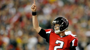 Matt Ryan threw four touchdown passes for the Atlanta Falcons