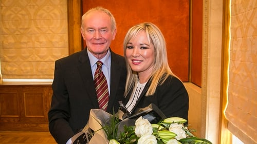 Michelle O'Neill will take over from Martin McGuinness