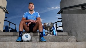 Dublin's Jonny Cooper at the Allianz Football League launch in Croke Park