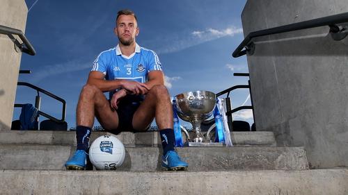 Dublin's Jonny Cooper at the Allianz Football League launch in Croke Park