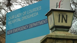 The man was taken to Our Lady of Lourdes Hospital in Drogheda