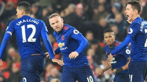Wayne Rooney: 'I'm happy at Manchester United'