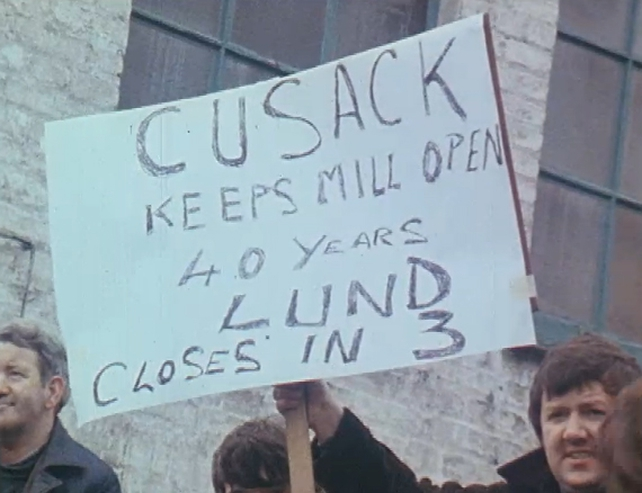 Clondalkin Paper Mills Sit-In (1982)