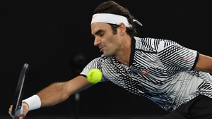 Roger Federer made short work of Mischa Zverev