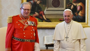 Grand Master Matthew Festing resigned after a meeting with Pope Francis
