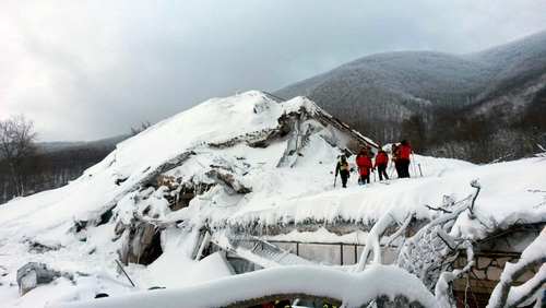 Italy avalanche death toll confirmed at 29