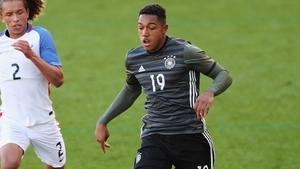 Anton Donkor in action for Germany Under-21s