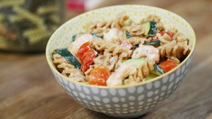 Operation Transformation: Prawn & Courgette Pasta