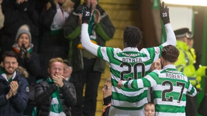 Celtic march on towards the title