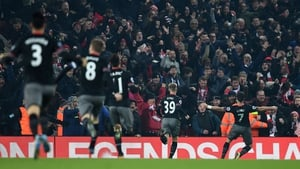Long's goal put the gloss on a semi-final win over Liverpool