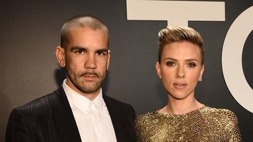 Romain Dauriac and Scarlett Johansson